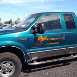 Bulldozing Company Truck
